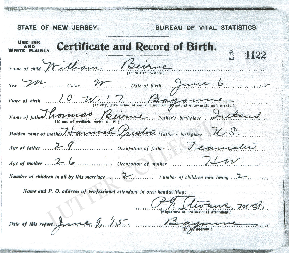 Family history research by jody a genetic genealogy success story copied at new jersey state archives in trenton by j lutter aiddatafo Images