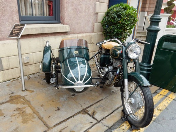 1939 Royal Enfield Bullet 500cc motorcycle The Mummy Returns