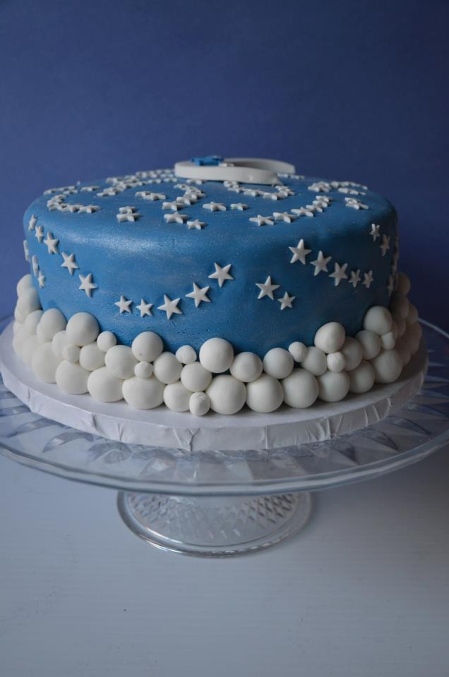 The Frosted Cake Boutique Star Light Star Bright Birthday Cake