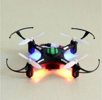 Mini Drone H8 JJRC 4 CH- R$98,90
