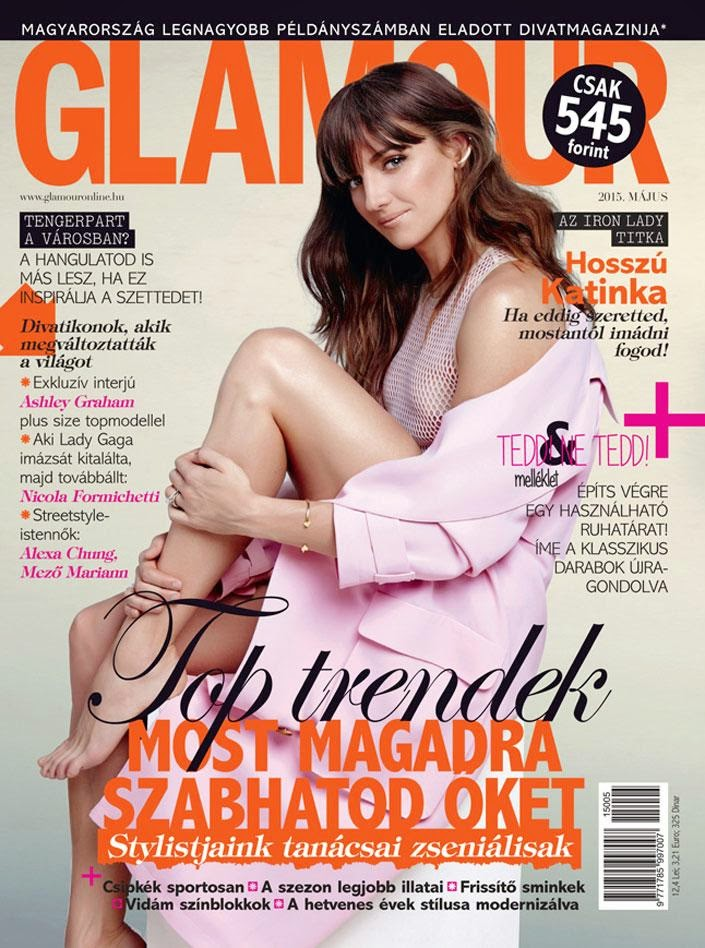 Sport, Swimming @ Katinka Hosszu - Glamour Magazine Hungary, May 2015