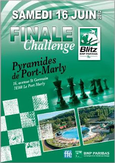 Echecs à Port-Marly : La Finale Blitz BNP Paribas - Photo © FFE