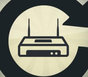 riavvio router da PC