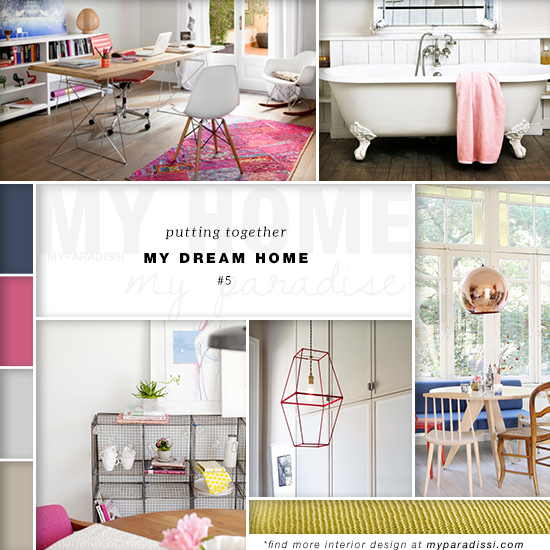 Putting together my dream home: City apartment with casual and eclectic touches   My Paradissi