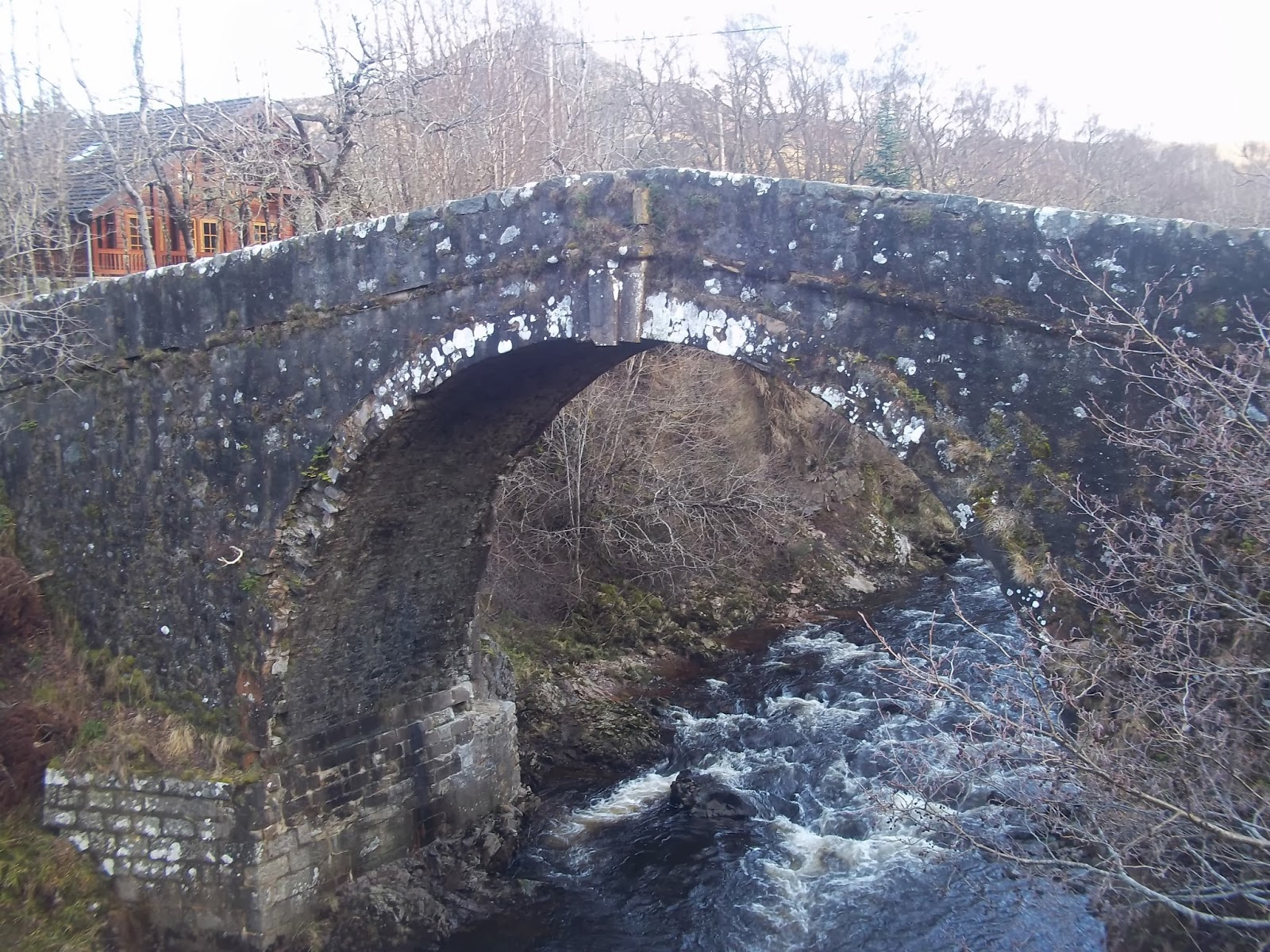 General Wade's bridge Whitebridge Wildside Highland Lodges