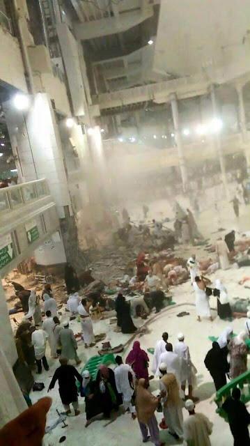 Daftar Nama Jamaah Haji Indonesia atau WNI yang Wafat Akibat Musibah Jatuhnya Crane Di Makkah