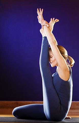Yoga-Tư thế-Heron