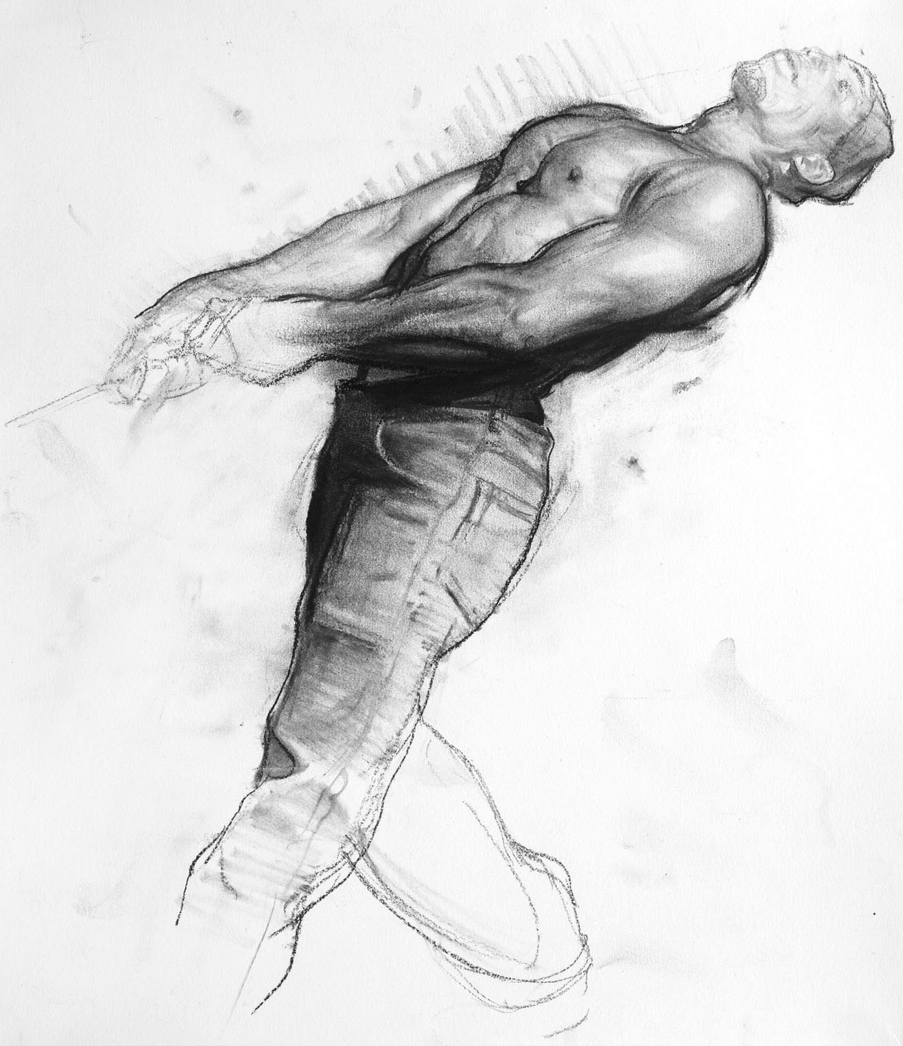 Drawing: Inspiration: Steve Huston B.1959