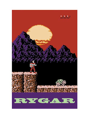 rygar 8 bit screenshot