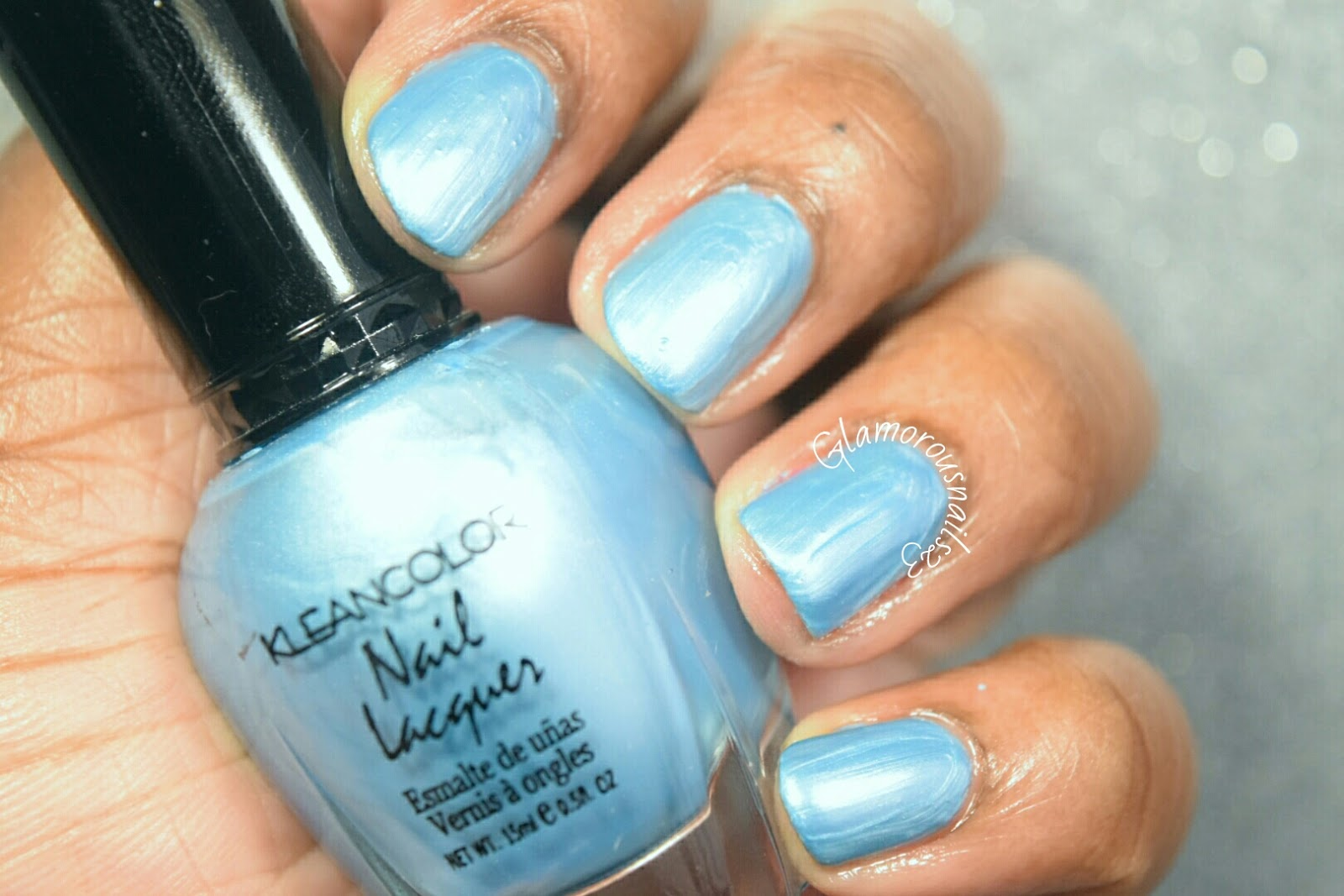 KleanColor Blue Pearl Swatches & Review - Glamorousnails23