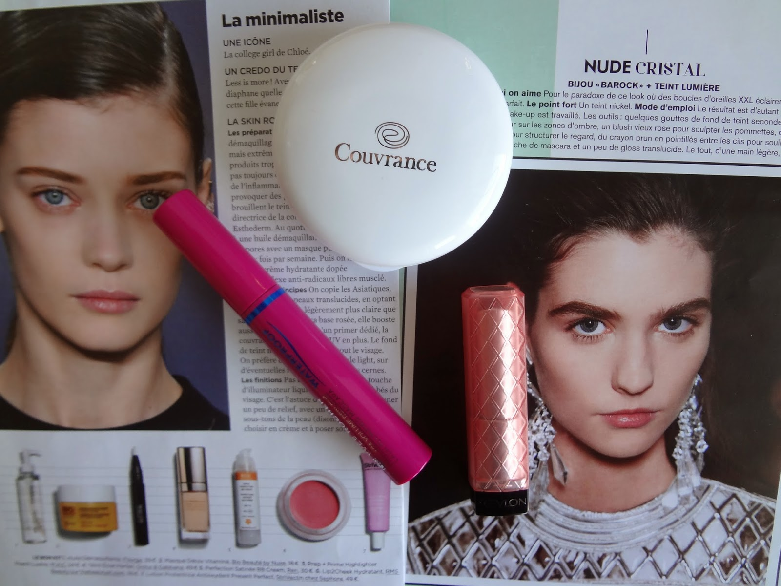 routine-make-up-maquillage-simple-facile-couvrance-avene-oil-free-compact-fond-teint-foundation-naturel-mascara-waterproof-yves-rocher-volume-deploye-revlon-lipbutter-peach-parfait-baume-teinte-ete-summer