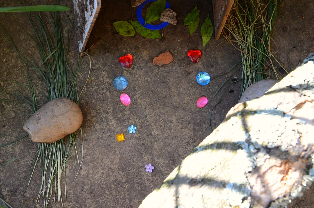 Garden Makeover, fairy house
