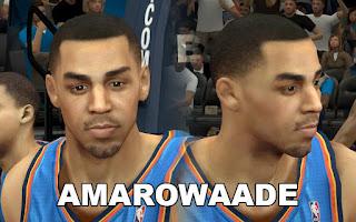 NBA 2K13 Mods - OKC Thabo Sefolosha Cyberface Mod