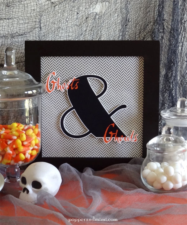 Ghosts and Ghouls Free Printable Halloween Decor