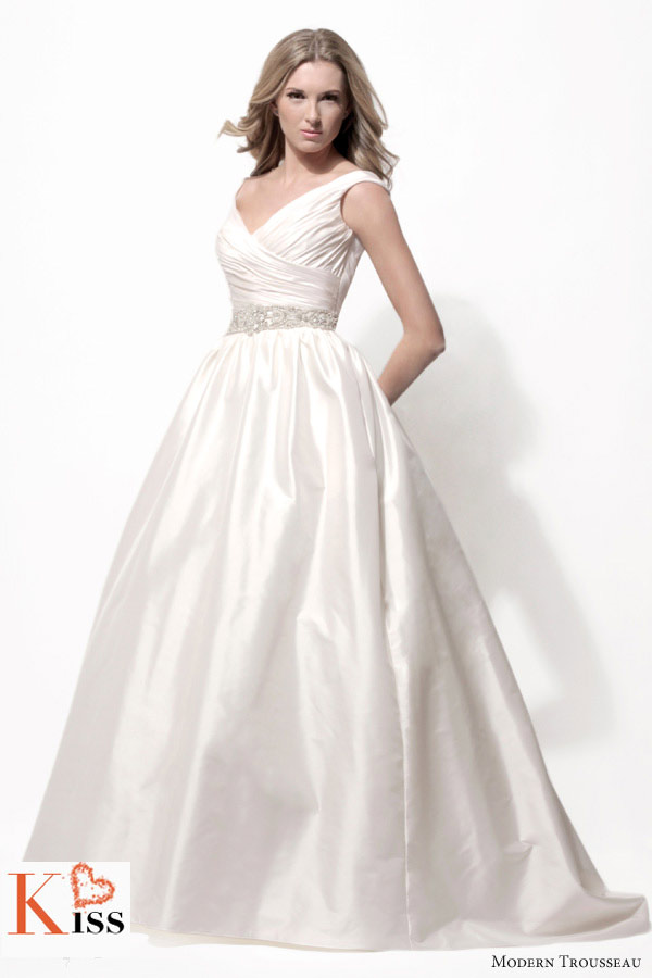 2014 Spring Wedding Dresses From Modern Trousseau