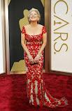 Бети Мидлър в червена дантела на Оскари 2014
