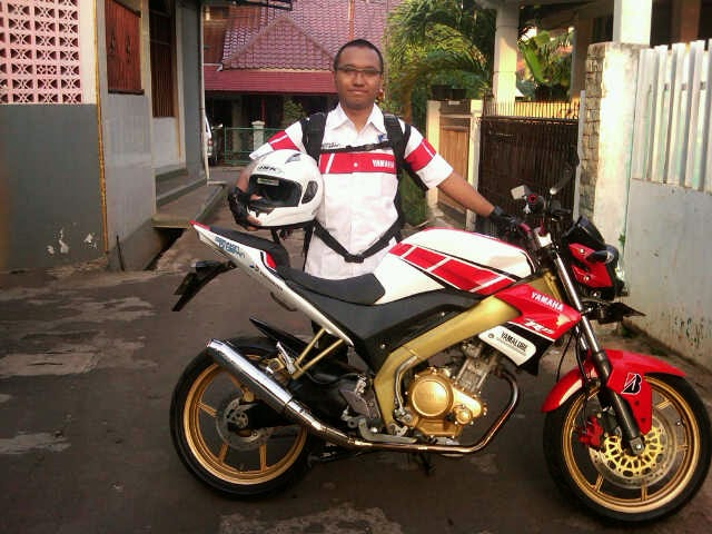 usalan singkatmengenai ModifikasiMotor Yamaha New Vixion Terbaru 2014  title=