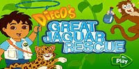 Спаси день рождения ягуара - Diego Great Jaguar Rescue