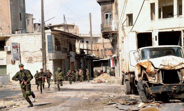 ANTARA KONFLIK SYRIA DAN PERANG KHANDAK
