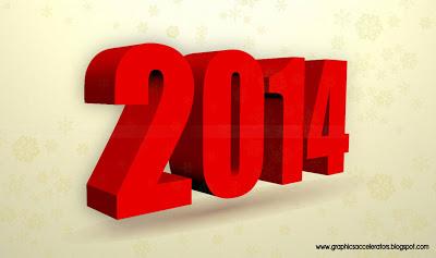 2014 vector font
