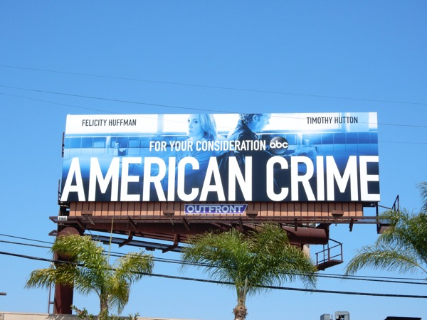 American Crime Emmy 2015 consideration billboard