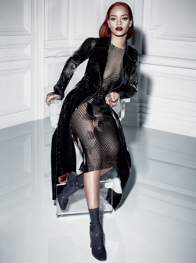 Rihanna by Craig McDean for Dior Magazine Fall 2015