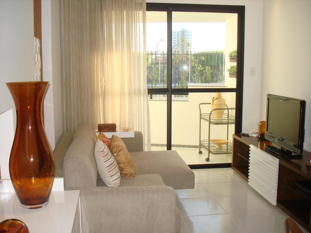 decoracao kitnet praia:Sala-De-Apartamento-Pequeno