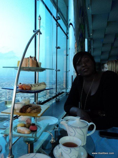 Burj Al Arab - Afternoon Tea Session - dubai