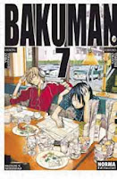 Bakuman 7,Tsugumi Ōba, Takeshi Obata,Norma Editorial  tienda de comics en México distrito federal, venta de comics en México df