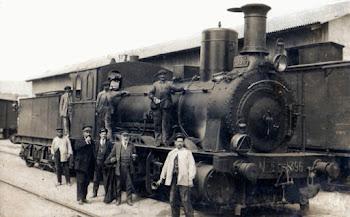 Lcomotora de vapor 396 de los años 40