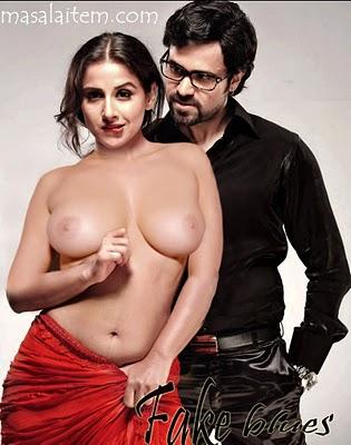 Vidya Balan Exposing Her Big Boobs