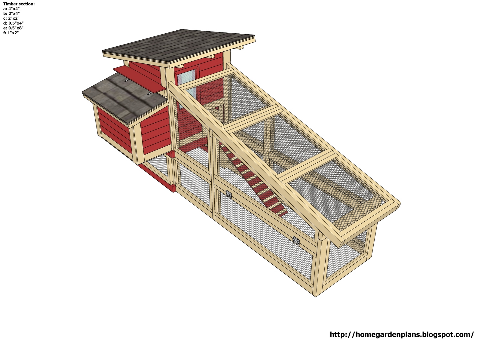 Next free plans for building a chicken run nakie for A frame blueprints free
