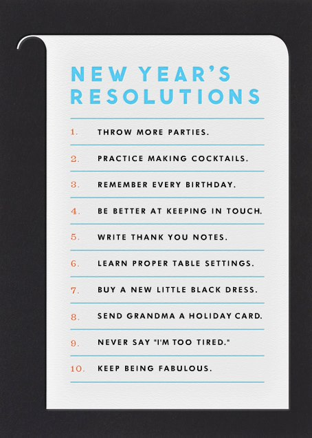 This Is Not My New Yearu0027s Resolution, But I Had To Share Because I Loved  This List. I Might Take A Few And Add To My Own Resolution List.
