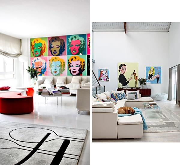 Pop Art In Living Room