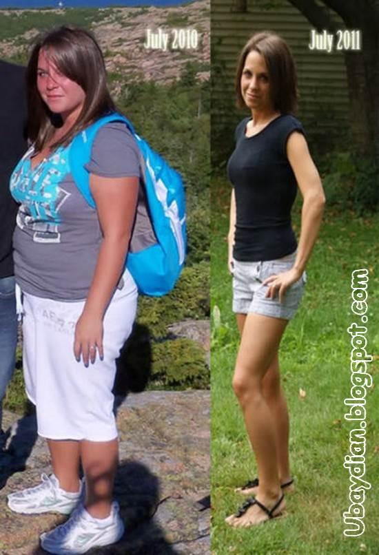 Gambar Wanita Gemuk yang berhasil diet - Ubaydian Blogs
