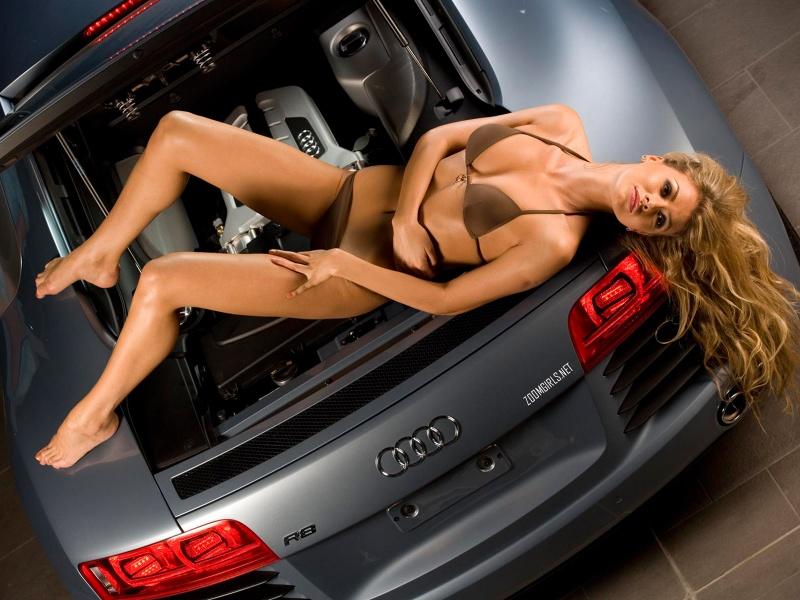 Автомобили и девушки голые фото