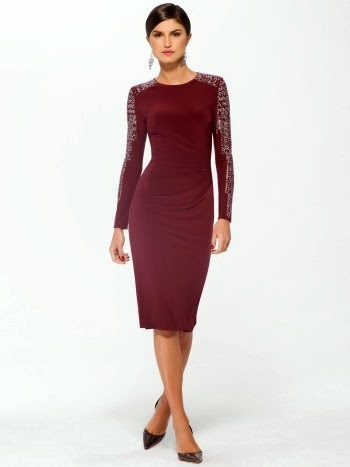 Christmas Party Wear Collection 2013 14 Christmas Red Dresses