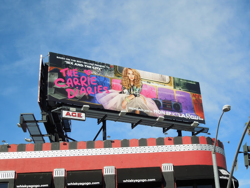 Carrie Diaries series premiere billboard