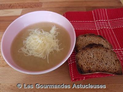 Recette facile de soupe à l'oignon