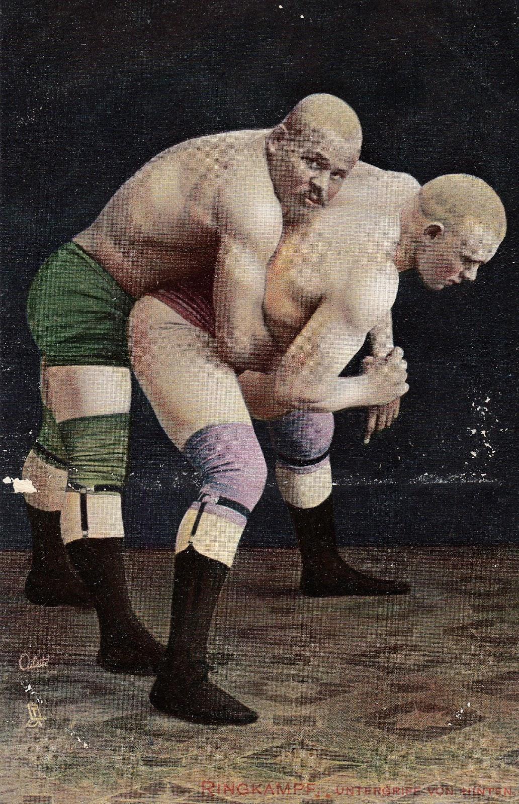 sack grabbing in wrestling