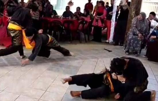 Majlis kahwin cemas apabila persembahan silat bertukar tragedi