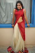 Chaithra setti sizzling in half saree-thumbnail-2
