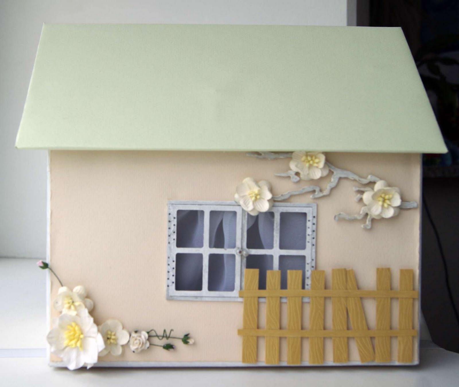 Свадебный домик для денег своими руками 76