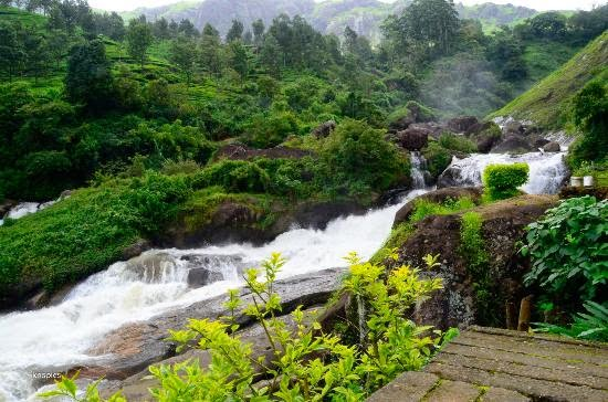 attukal waterfalls attraction, munnar reviews