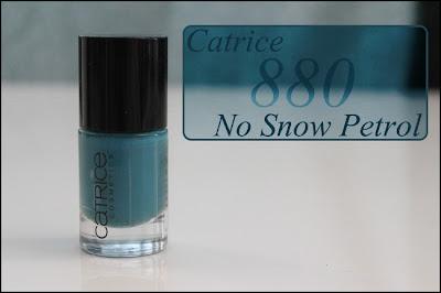 Catrice 880 No Snow Petrol