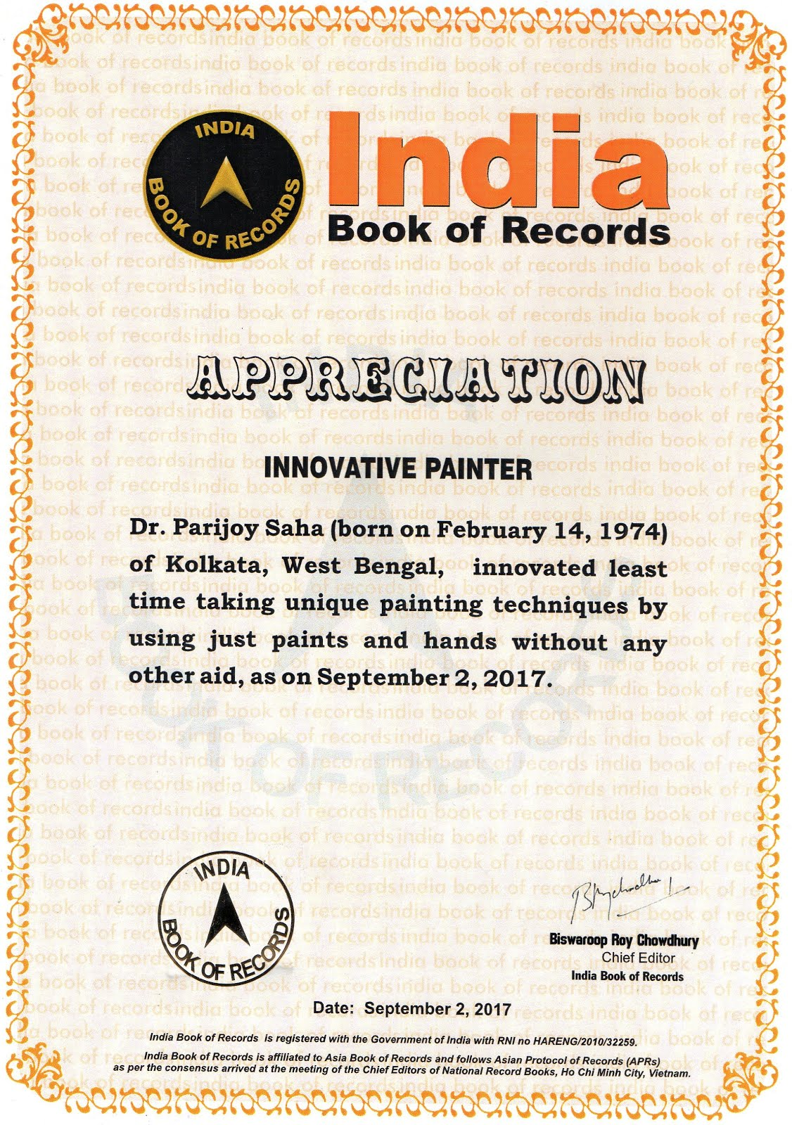 Innovative Painter Award