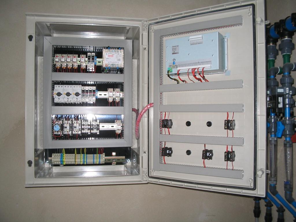 Instalaci n de cuadros y armarios el ctricos for Armario contador luz