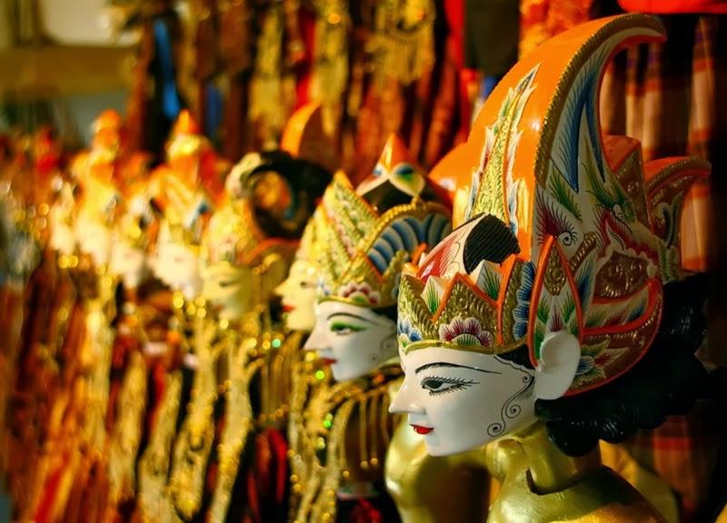Wayang Golek Souvenir Khas Bandung