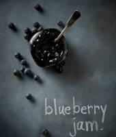 Geleia de blueberry receita