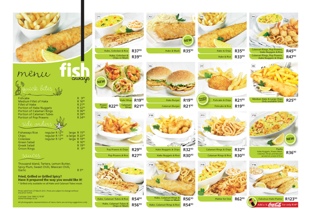 Fishaways now in intermart way what i see as i live my for Two fish menu